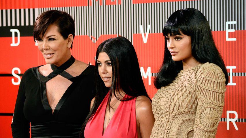 Kris Jenner, Kourtney Kardashian und Kylie Jenner