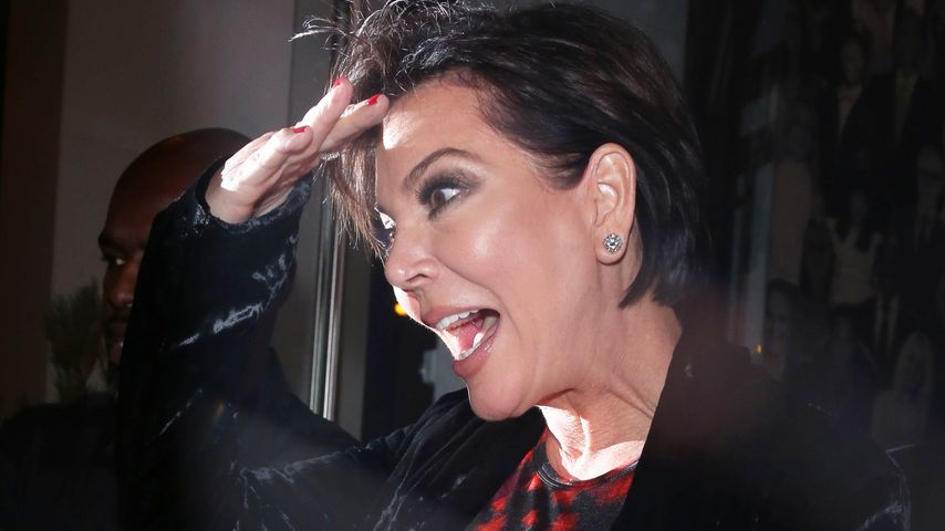 Kris Jenner verlässt im November 2016 ein Restaurant in Los Angeles