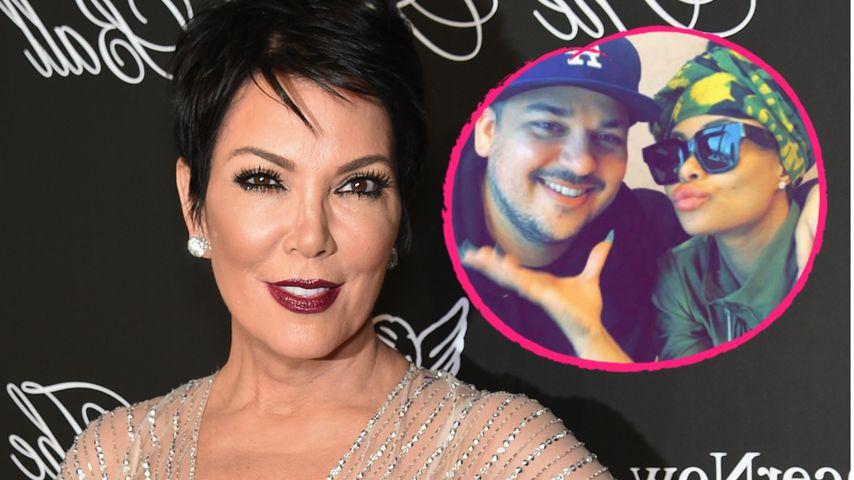 Neue Regeln: Kris Jenner bestimmt Beziehung von Rob & Blac