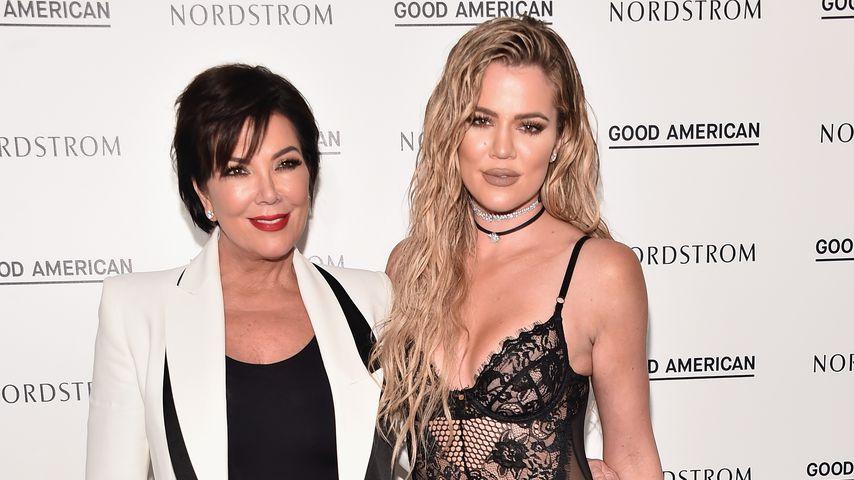 Kris Jenner und Khloe Kardashian bei einer Veranstaltung in Los Angeles