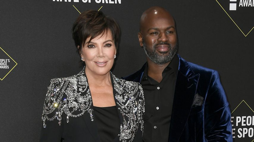 Kris Jenner und Corey Gamble bei den People's Choice Awards 2019