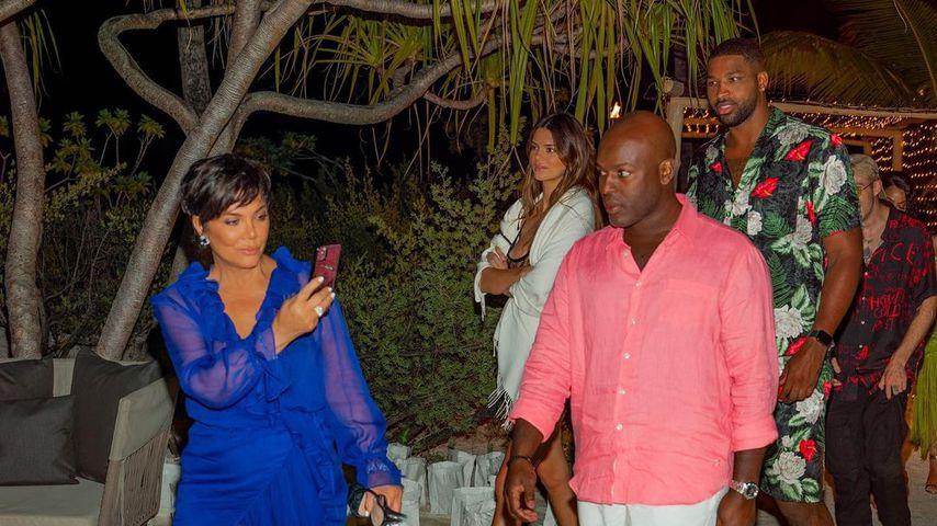 Kris Jenner und ihr Partner Corey Gamble sowie Kendall Jenner und Tristan Thompson