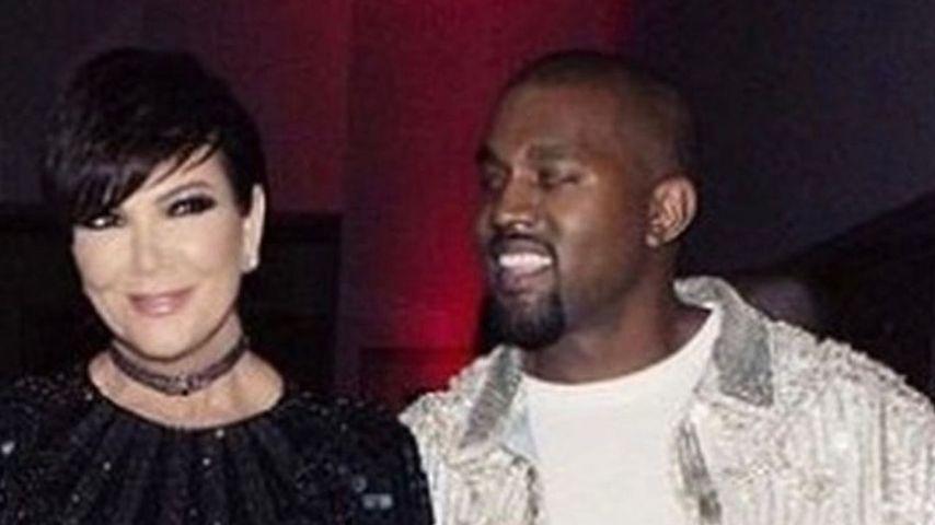 Kris Jenner und Kanye West