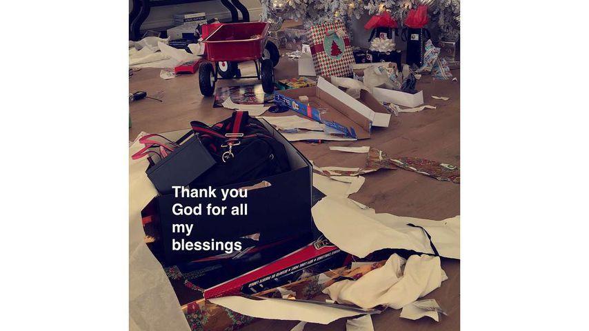 Kris Jenners Haus nach Weihnachten