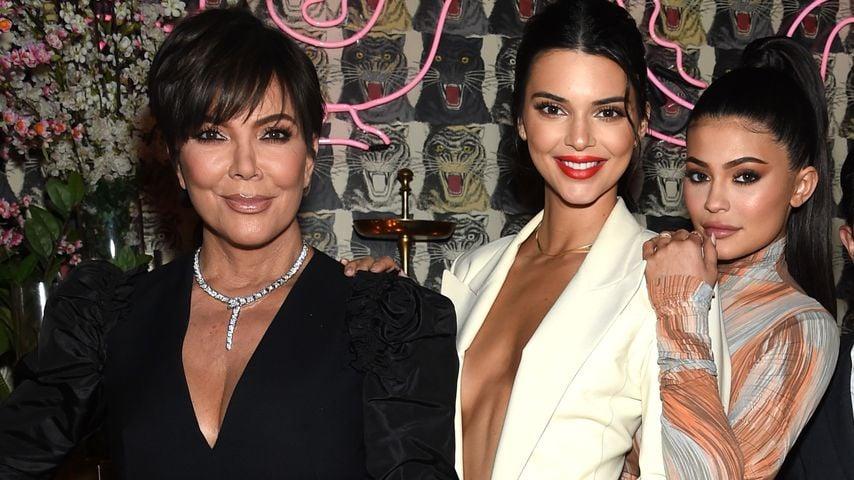 Kris, Kendall und Kylie Jenner auf einem Event in New York City