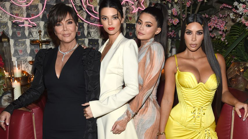 "Kris, Kendall und Kylie Jenner und Kim Kardashian auf dem ""The Business of Fashion""-Dinner"