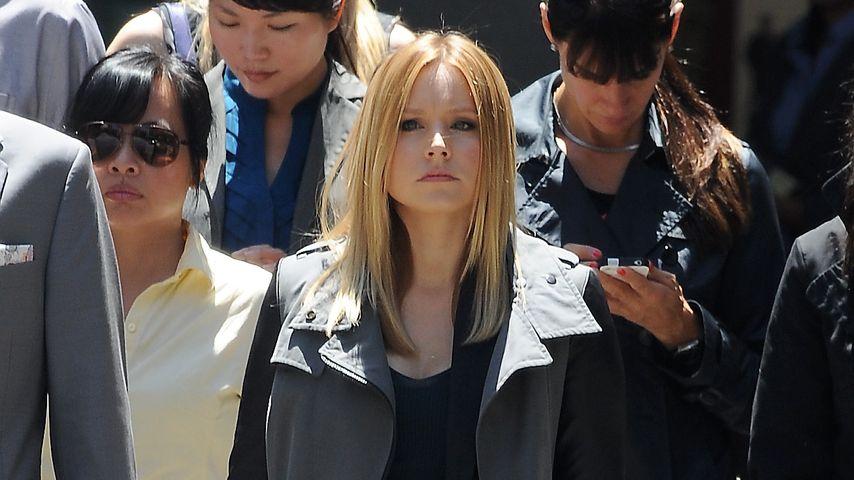 """Kristen Bell 2013 am Filmset von """"Veronica Mars"""""""