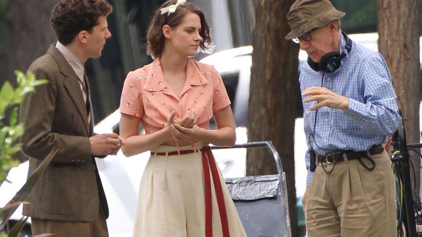 Jesse Eisenberg, Kristen Stewart und Woody Allen