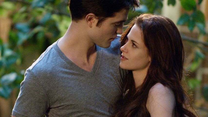 "Robert Pattinson und Kristen Stewart in ""Breaking Dawn, Teil 1"""