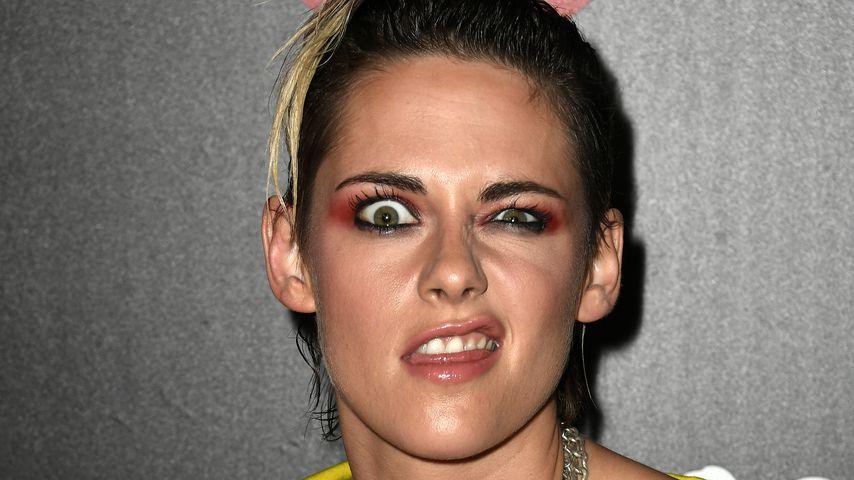 Grimassen-Queen Kristen Stewart zieht Gesichter auf Event