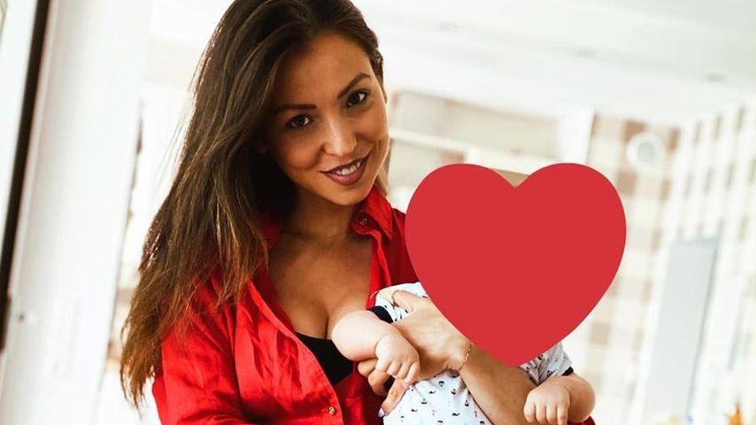 Kristina Yantsen mit ihrem Sohn Aaron