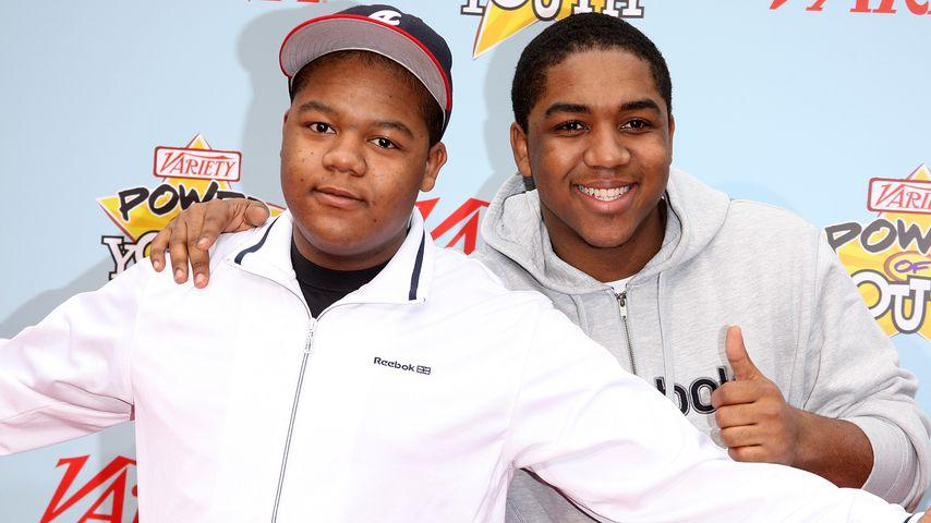 Kyle und sein Bruder Christopher Massey, Disney-Schauspieler
