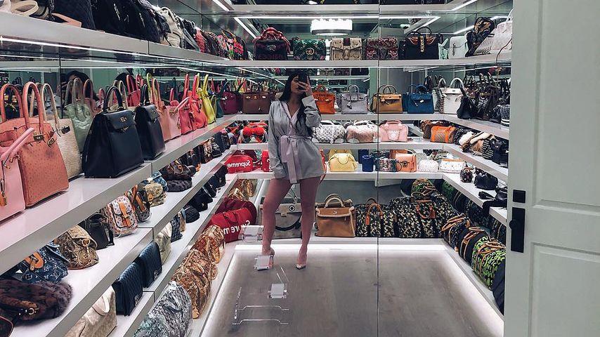 Dekadent! Kylie Jenner hat eigenen Raum für ihre Handtaschen