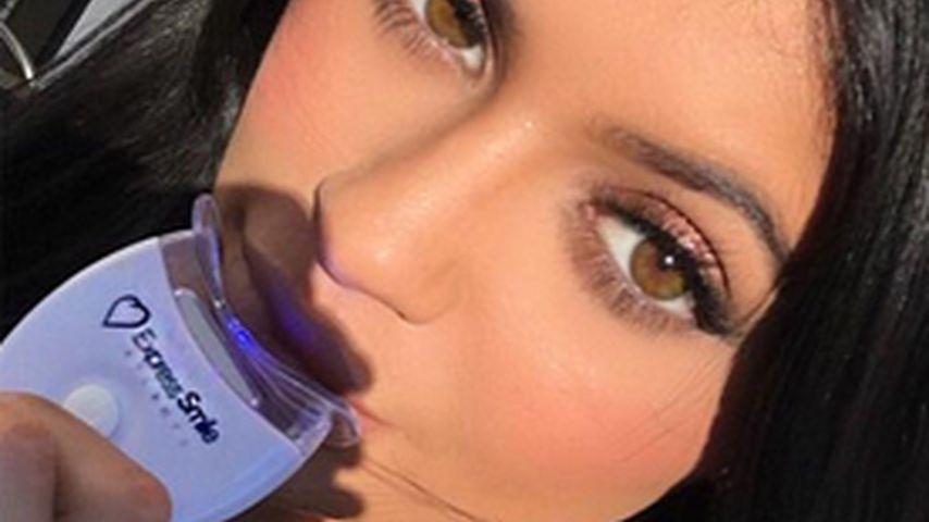 Mogel-Packung: Kylie Jenner bleacht sich auch die Zähne