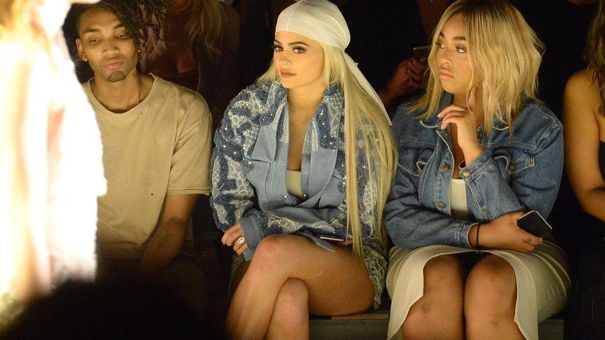 Kylie Jenner und Jordyn Woods auf der Jonathan Simkhai Fashion Show