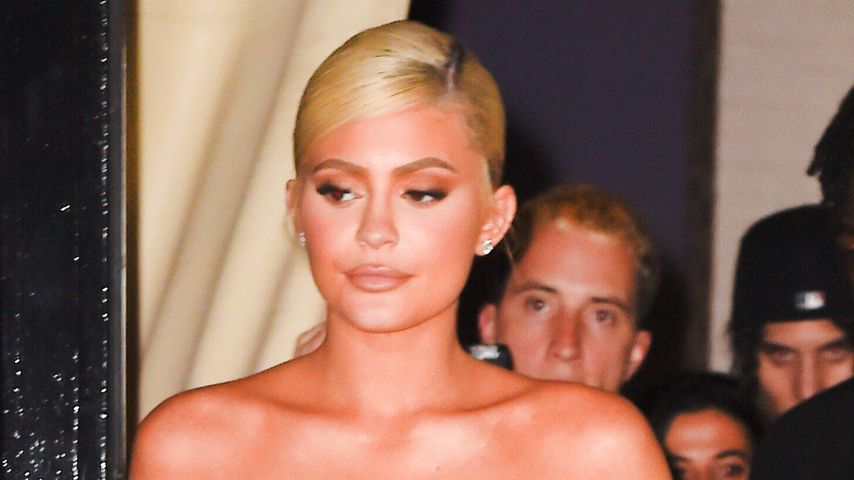 Reality-Star Kylie Jenner in New York, September 2018