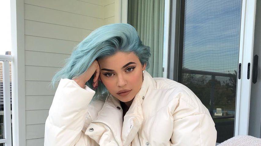 Mega-Umstyling: Kylie Jenner hat plötzlich blaue Haare!