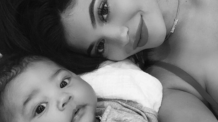 Süß-Alarm: Kylie Jenner teilt neue Pics von Baby-Girl Stormi