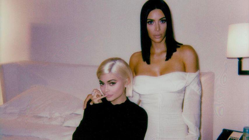 Verrückter Fan-Verdacht: Ist Kylie Jenner Kims Leihmutter?