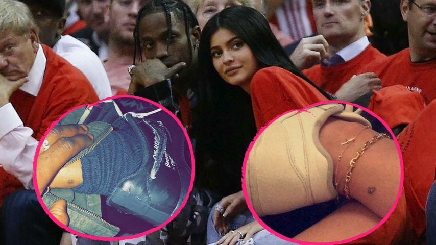 Blitz-Liebe: Kylie Jenner & Travis haben ein Partner-Tattoo!