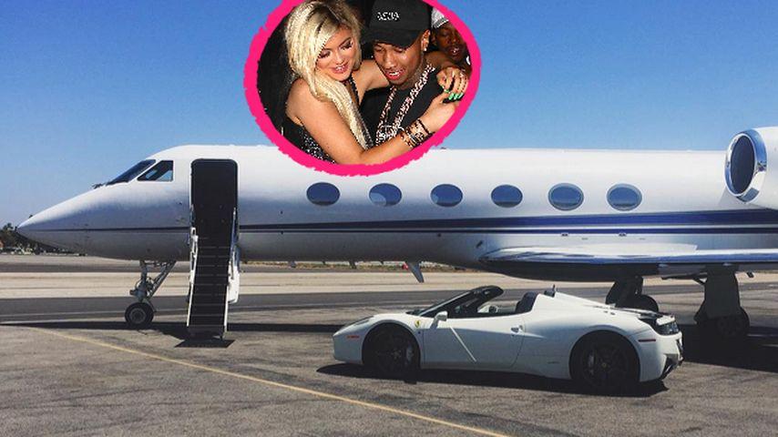 Nächstes Luxus-Level: Kylie Jenner & Tyga düsen nach Mexiko