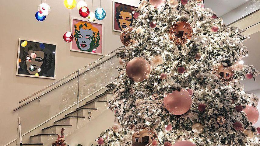 Kylie Jenners Weihnachtsbaum
