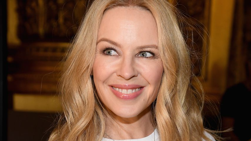 Kylie Minogue bei Stella McCartney auf der Paris Fashion Week Spring/Summer 2018