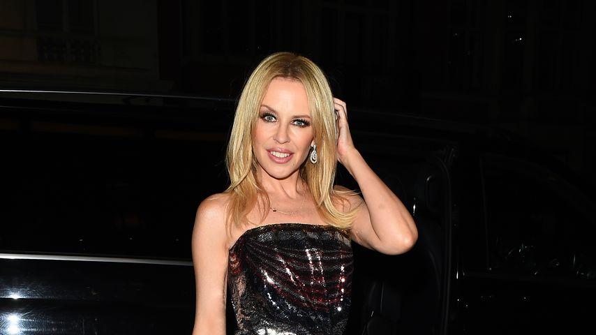 Sängerin Kylie Minogue in London