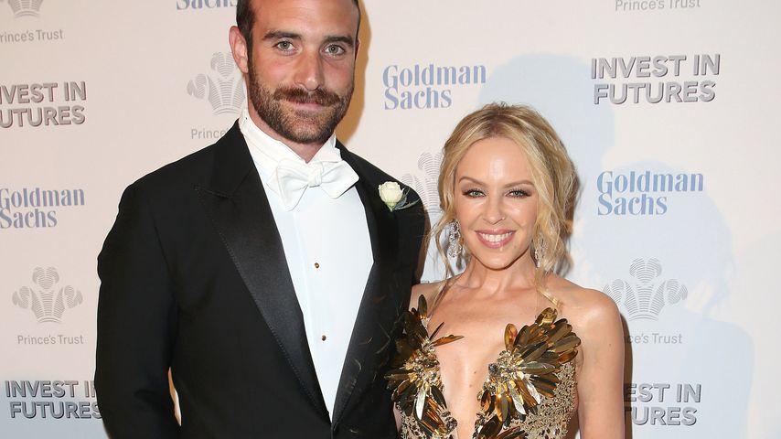 Schmetterlinge im Bauch: Ist Kylie Minogue frisch verliebt?