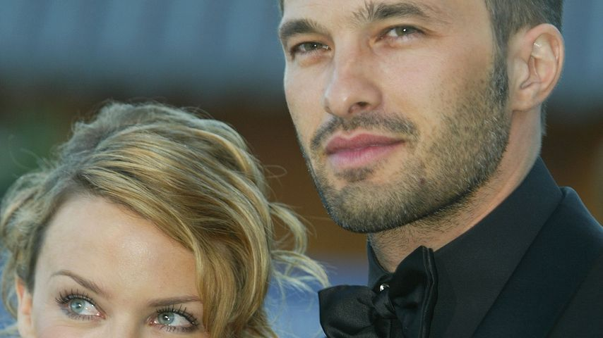 Kylie Minogue und Olivier Martinez 2003 in Monaco