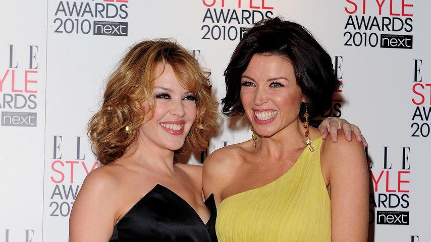 Kylie und Dannii Minogue bei den Elle Style Awards 2010