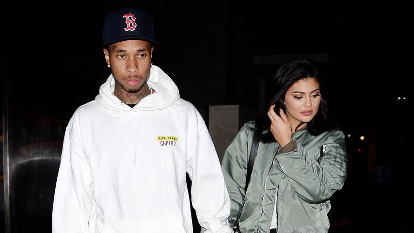 Kylie Jenner und Tyga in Los Angeles