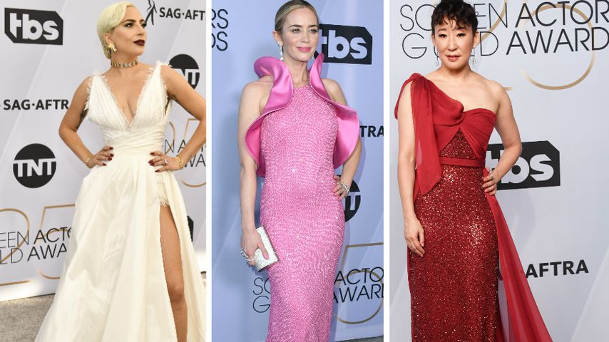 """Vagina-Kleid"": Heiße Looks bei den SAG Awards!"
