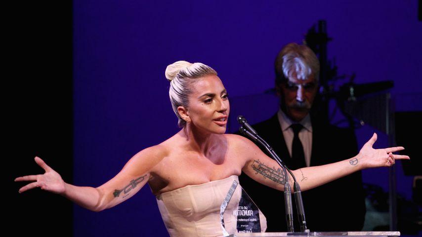 Musikerin Lady Gaga während der Veranstaltung der SAG AFTRA-Stiftung