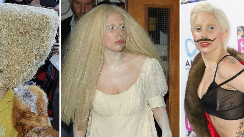 Damenbart & Co.: So crazy waren Lady GaGas Outfits