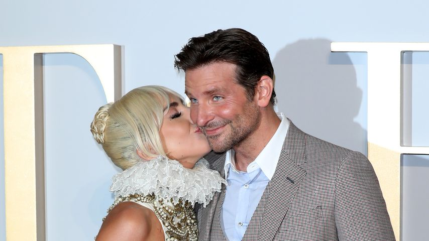 "Lady Gaga und Bradley Cooper bei der ""A Star Is Born""-Premiere in London"