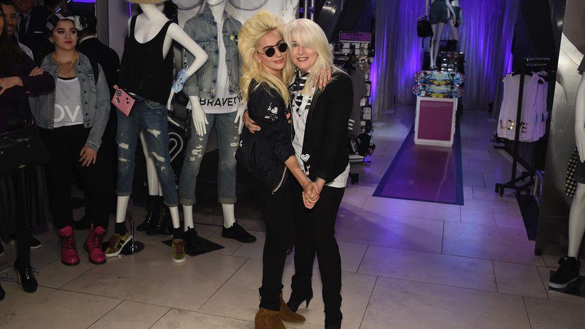 Fittes Mutter-Tochter-Duo: Lady GaGa & Mama machen Radschlag