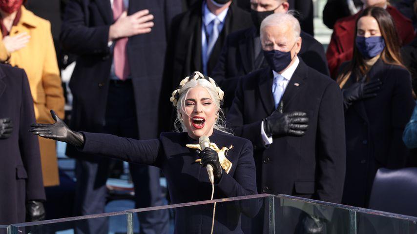 Lady Gaga und Joe Biden