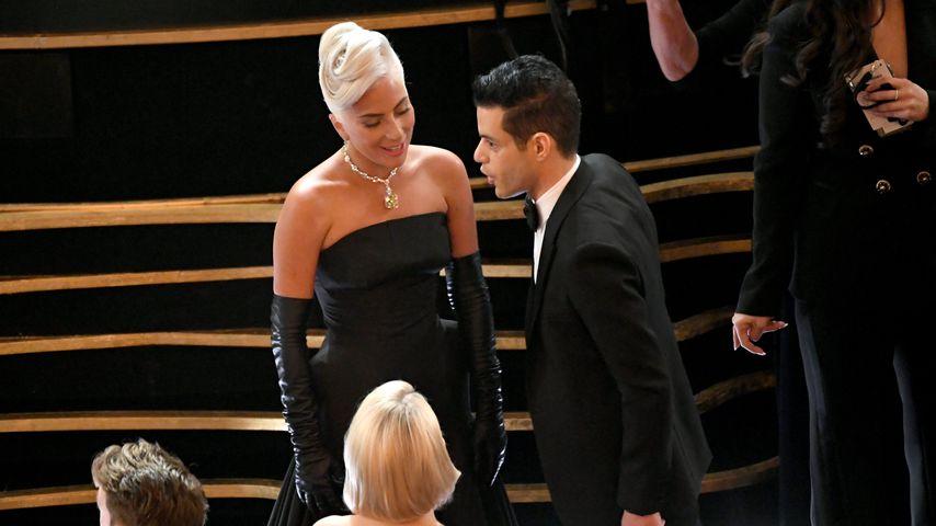 Lady Gaga und Rami Malek bei den Oscars 2019