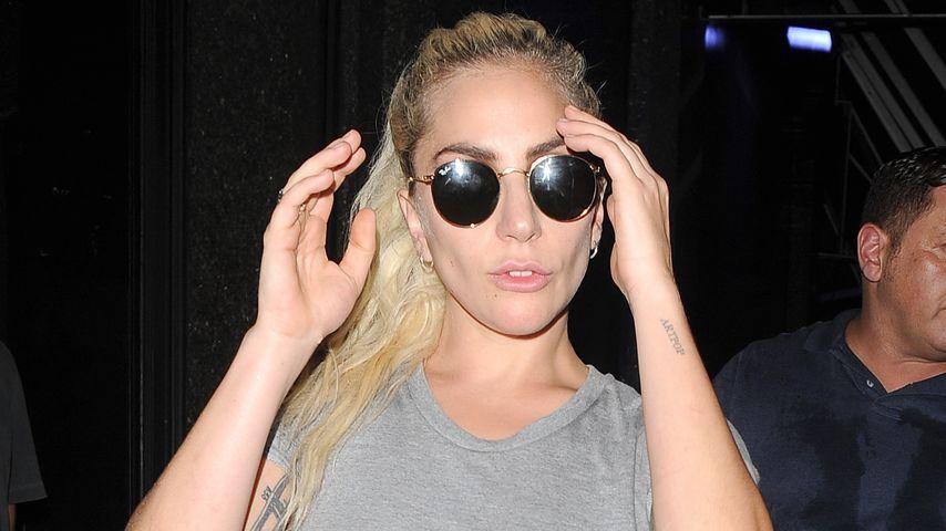 Lady GaGa unterwegs in London