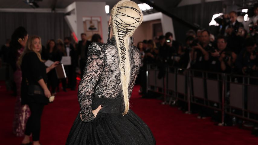 Lady Gagas Frisur bei den Grammy Awards 2018
