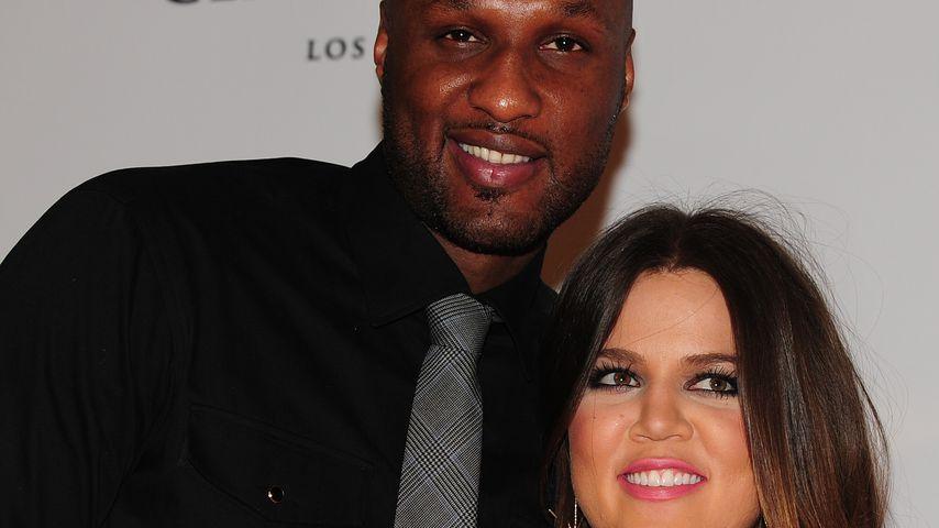 Lamar Odom und Khloe Kardashian bei einer Benefiz-Veranstaltung in Los Angeles, 2012