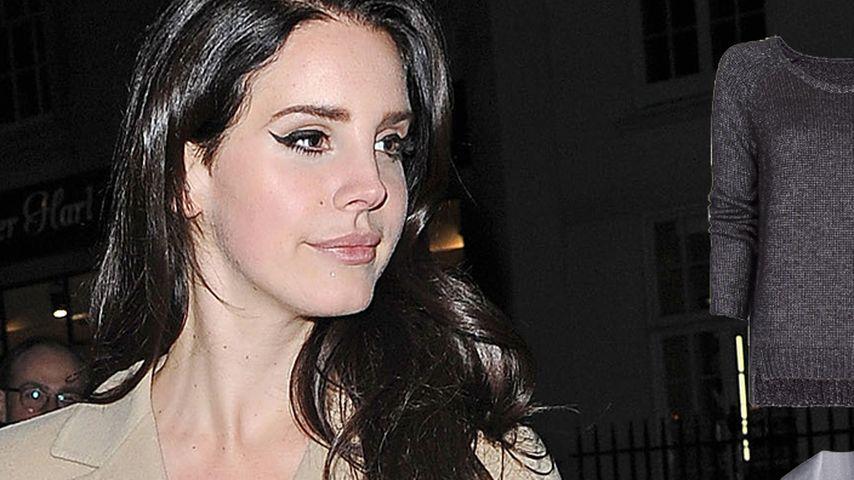 Lana Del Reys Casual-Look mit Kuschel-Faktor