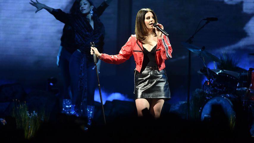 Lana Del Rey bei einem Konzert in Newark, New Jersey