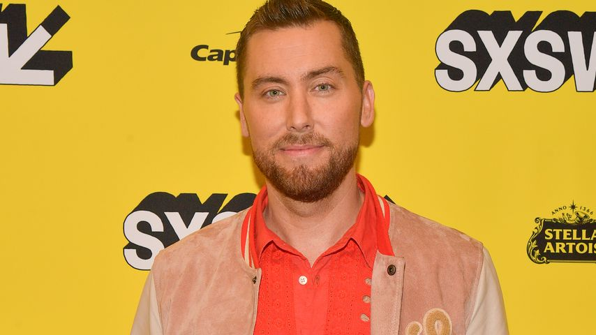 """Lance Bass bei der """"The Boy Band Con: The Lou Pearlman Story""""-Premiere in Austin im März 2019"""