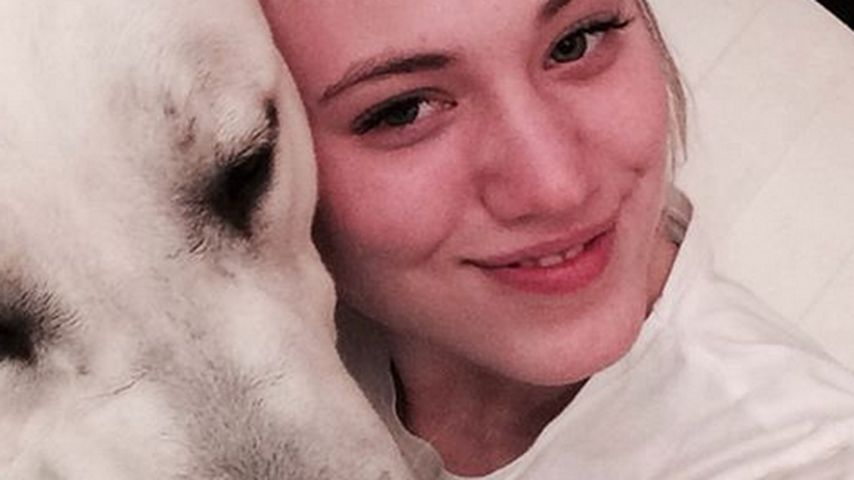 """Olé! Larissa übt mit ihrem Hund für """"Let's Dance"""""""