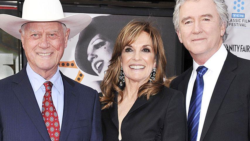 Larry Hagmans Tod: Dallas-Kollegen waren bei ihm