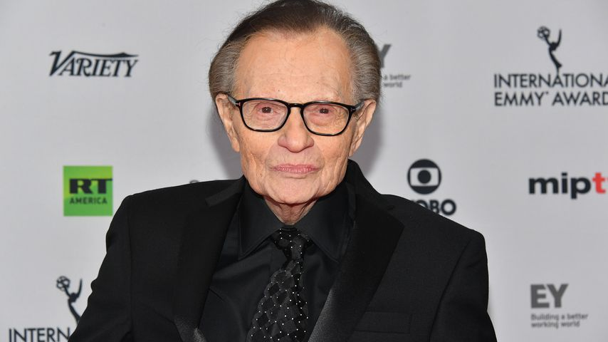Larry King bei den Emmy-Awards 2017
