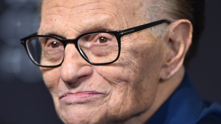 Larry King im August 2018 in Kalifornien