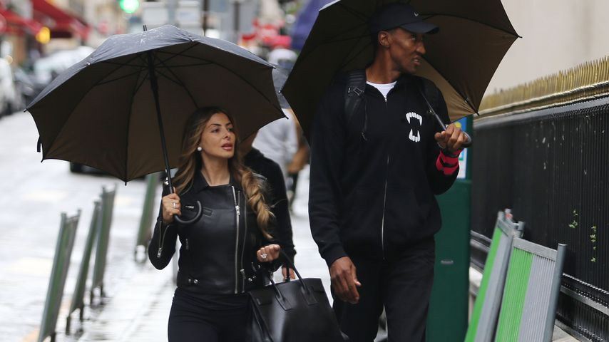 Larsa und Scottie Pippen in Paris